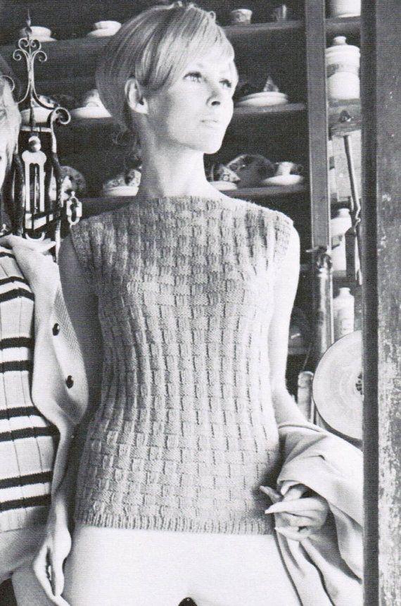 Women\'s Knitted Lattice Shell Pattern PDF / by CreeksideCharms ...