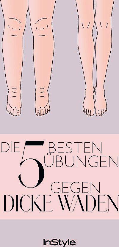 Dicke Waden: Diese fünf Übungen verhelfen dir zu schönen Beinen. #body #waden #fitness #workout
