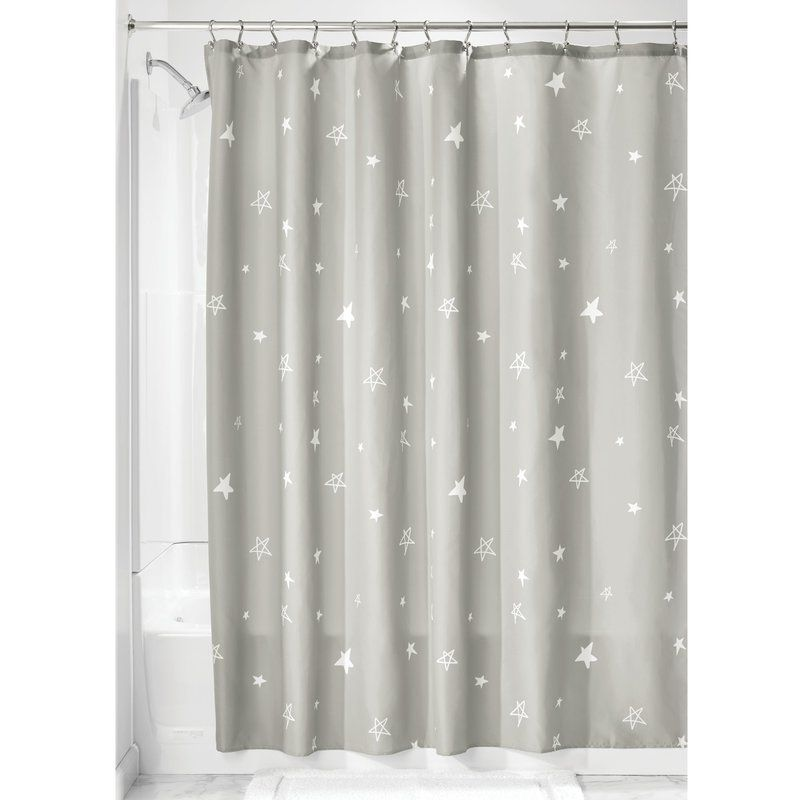 Colunga Star Single Shower Curtain In 2020 Fabric Shower