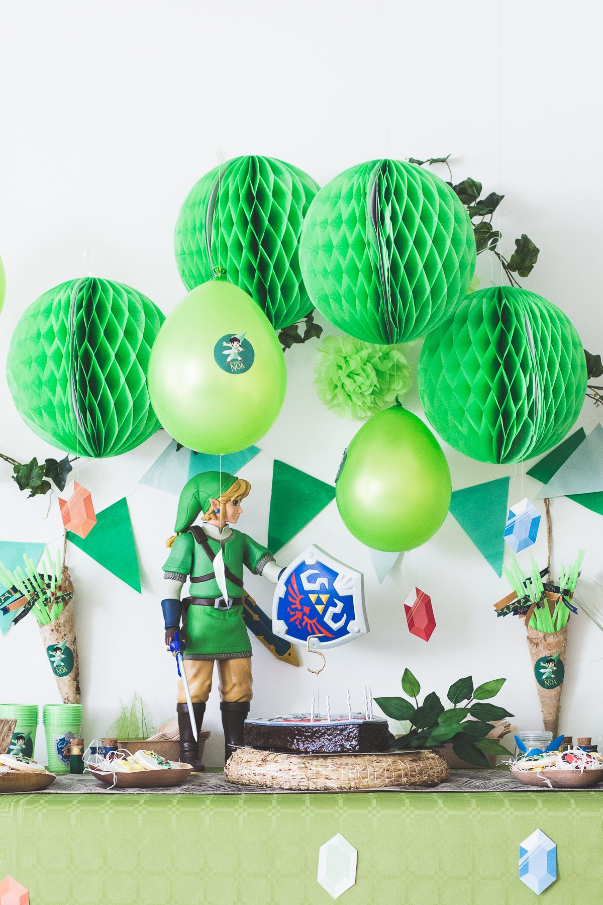 Anniversaire Zelda Freebies Party Ideas Zelda Jeu Vidéo