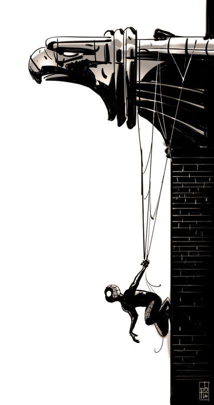 PAUL BRIGGS | Super hero\'s | Pinterest | Hombre araña, Cómics y ...