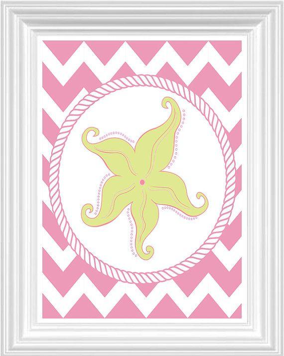 BLACK FRIDAY SALE Mermaid Nursery Art Custom Initial Print Girls ...
