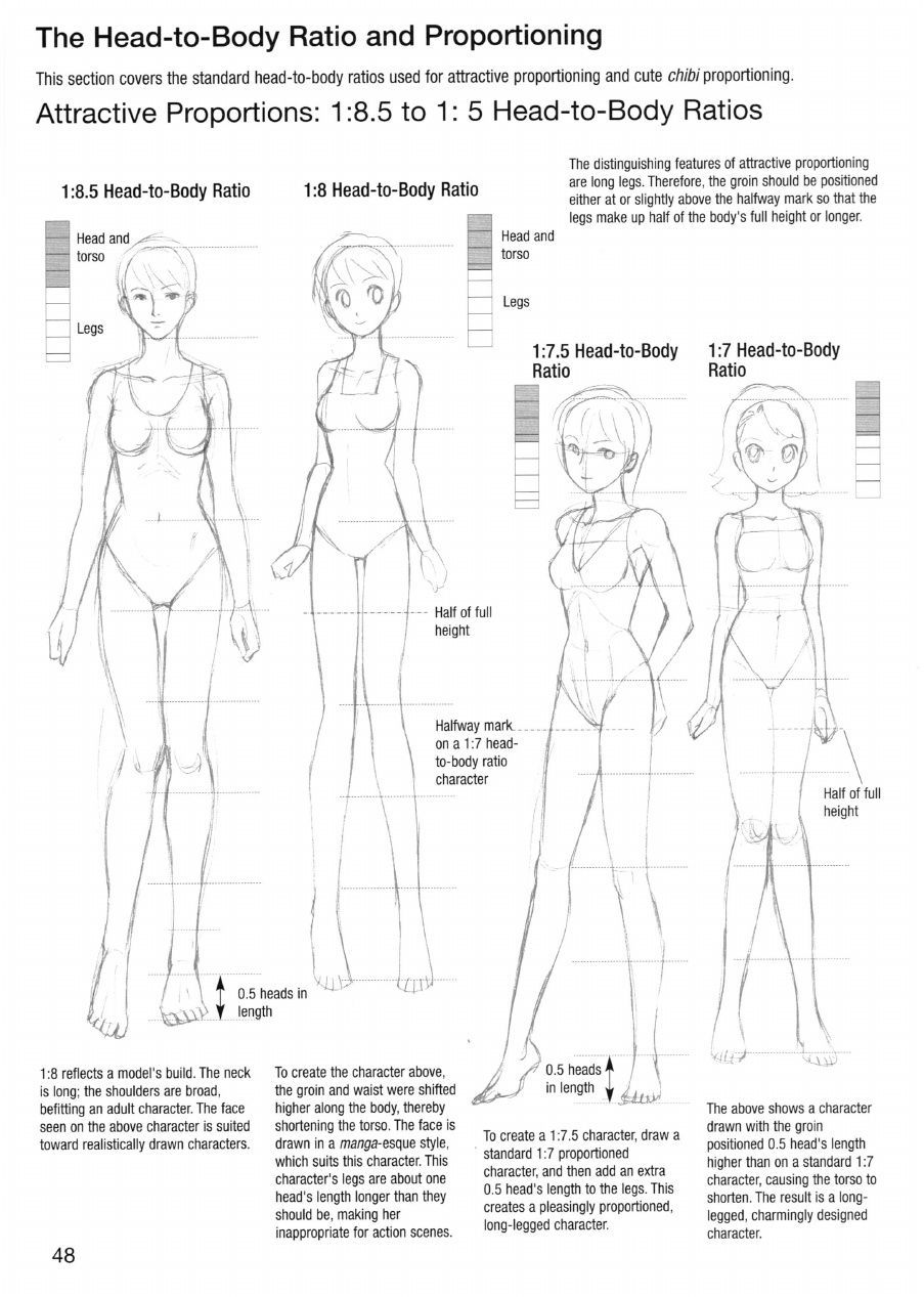 Manga Drawing Tips Sketching Manga Style Vol 2 Logical Proportions In 2020 Manga Drawing Manga Drawing Tutorials Anime Tutorial