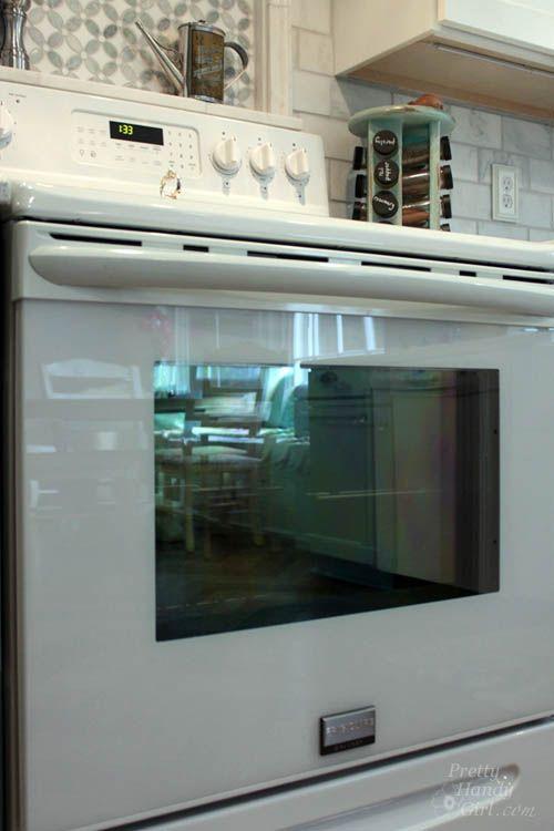 How To Clean Inside Your Oven Door Pretty Handy Girl Clean Freak