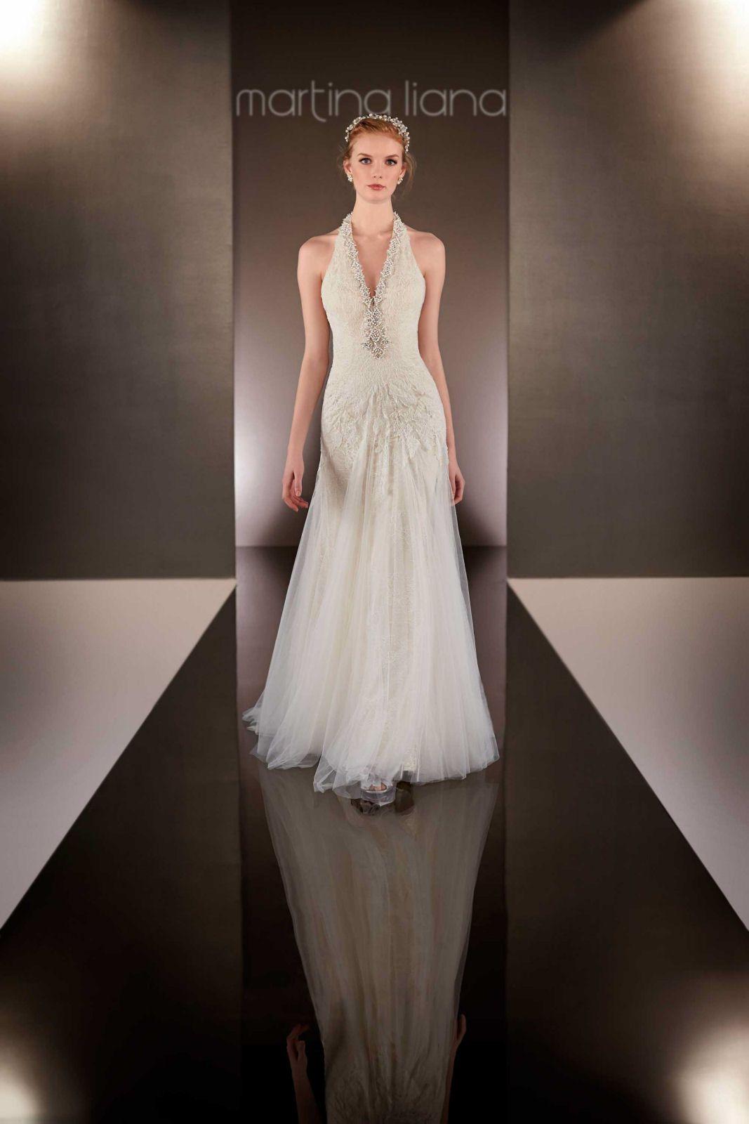 Silk sheath wedding dress   from Martina Liana  Wedding ideas  Pinterest  Wedding dress