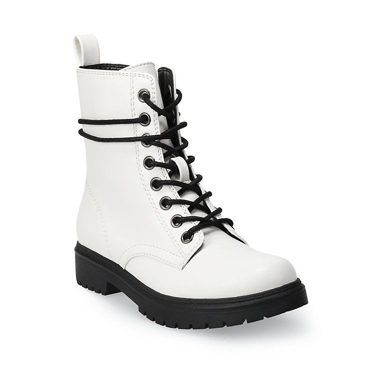 SO® Bowfin Women's Combat Boots in 2020