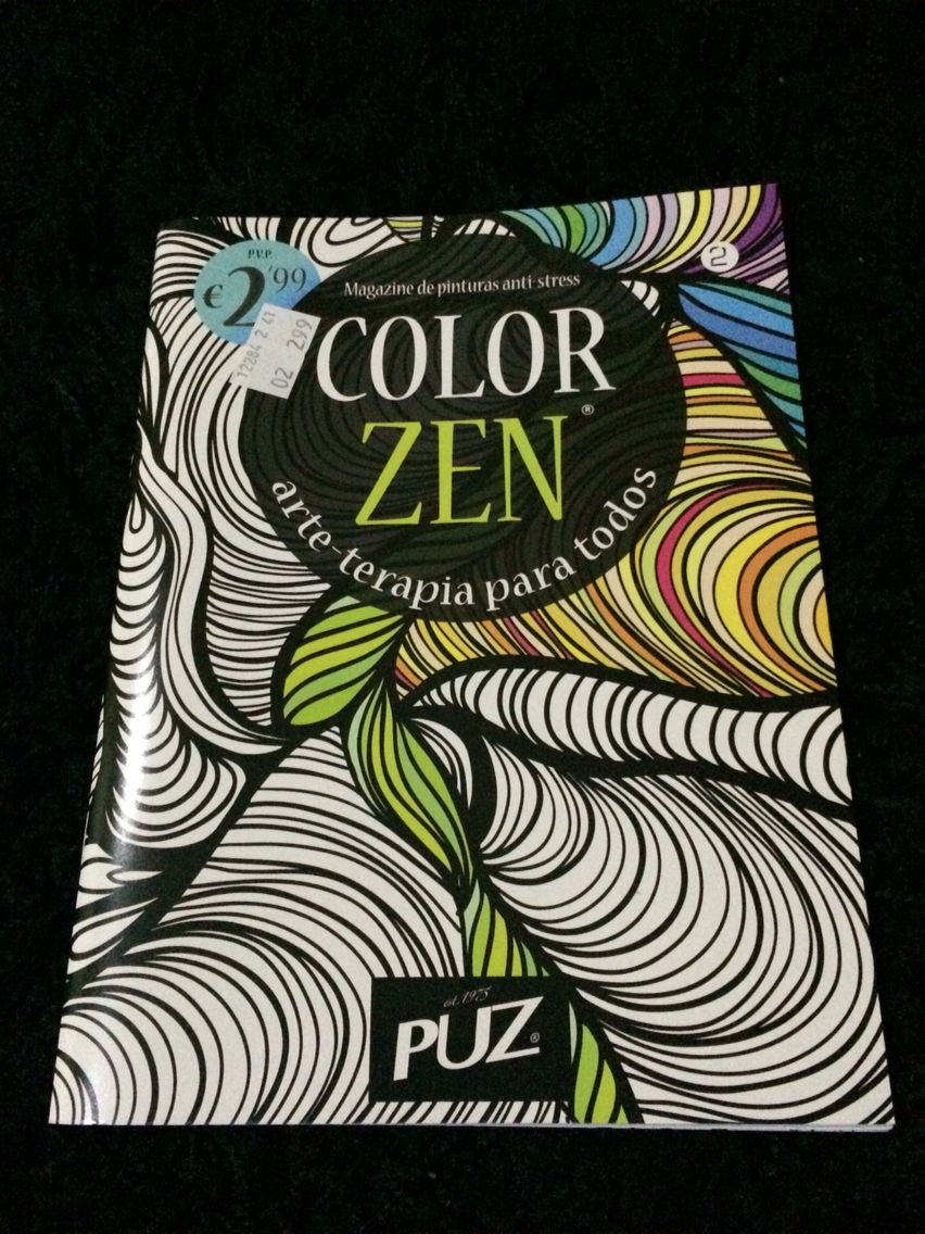 Color zen magazine - Color Zen Num 2 Da Puz