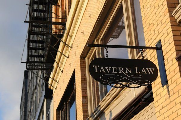 [Tavern Law sign in Seattle, hometown love -area]