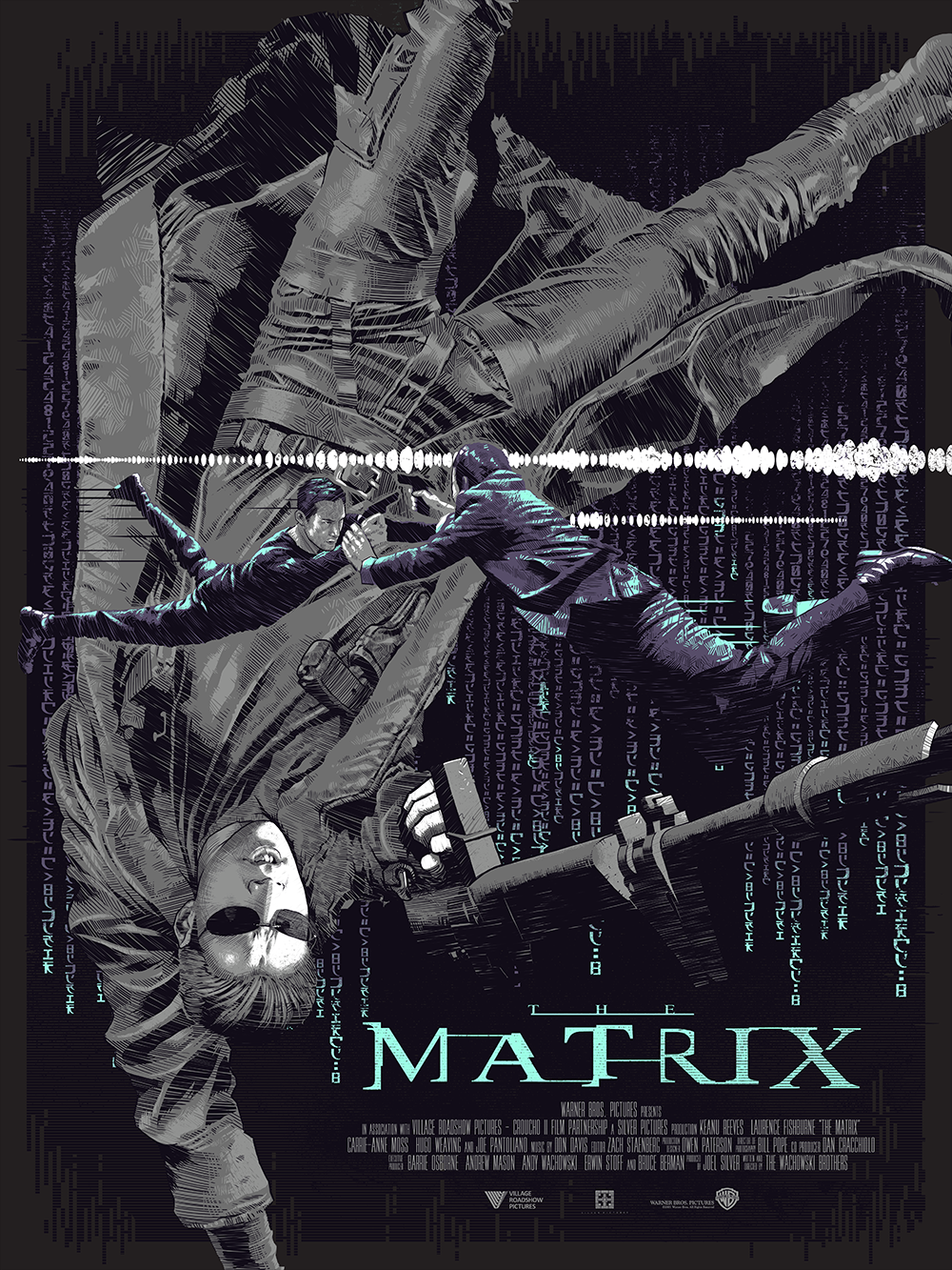 The Matrix By Luke Preece The Matrix Movie Alternative Movie