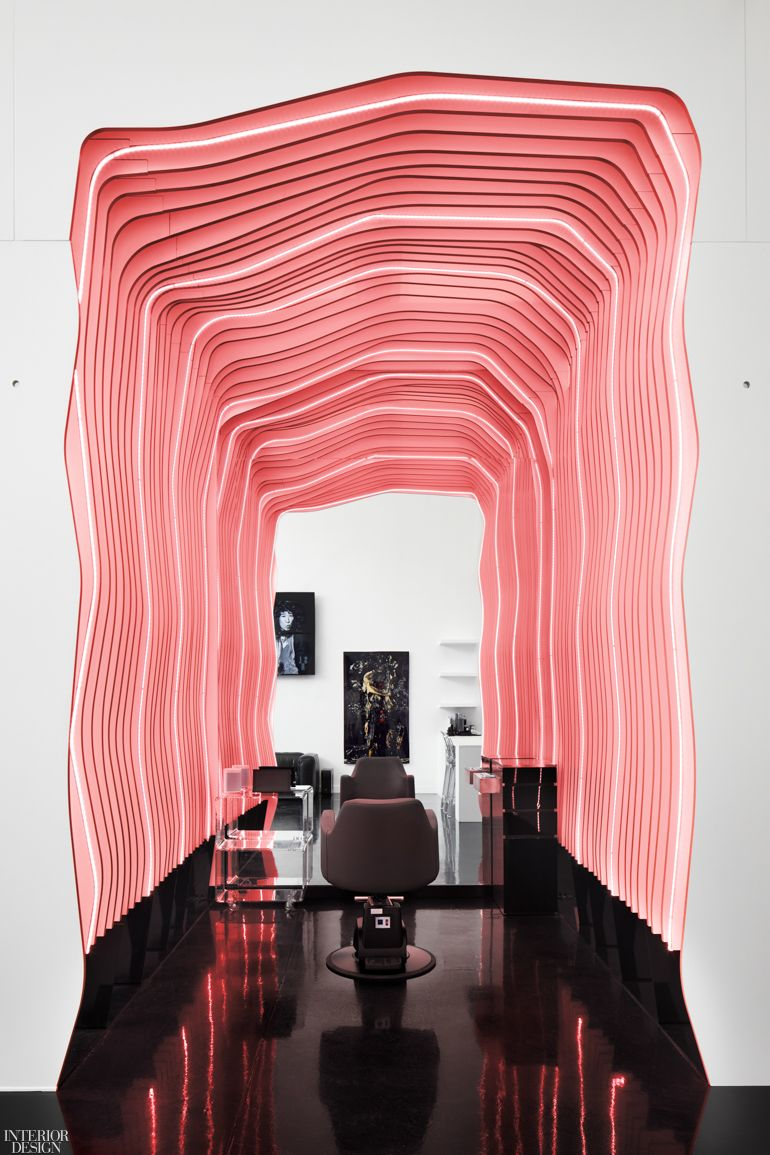 Fgp Atelier Creates Salon Of The Future For L A Stylist Ted