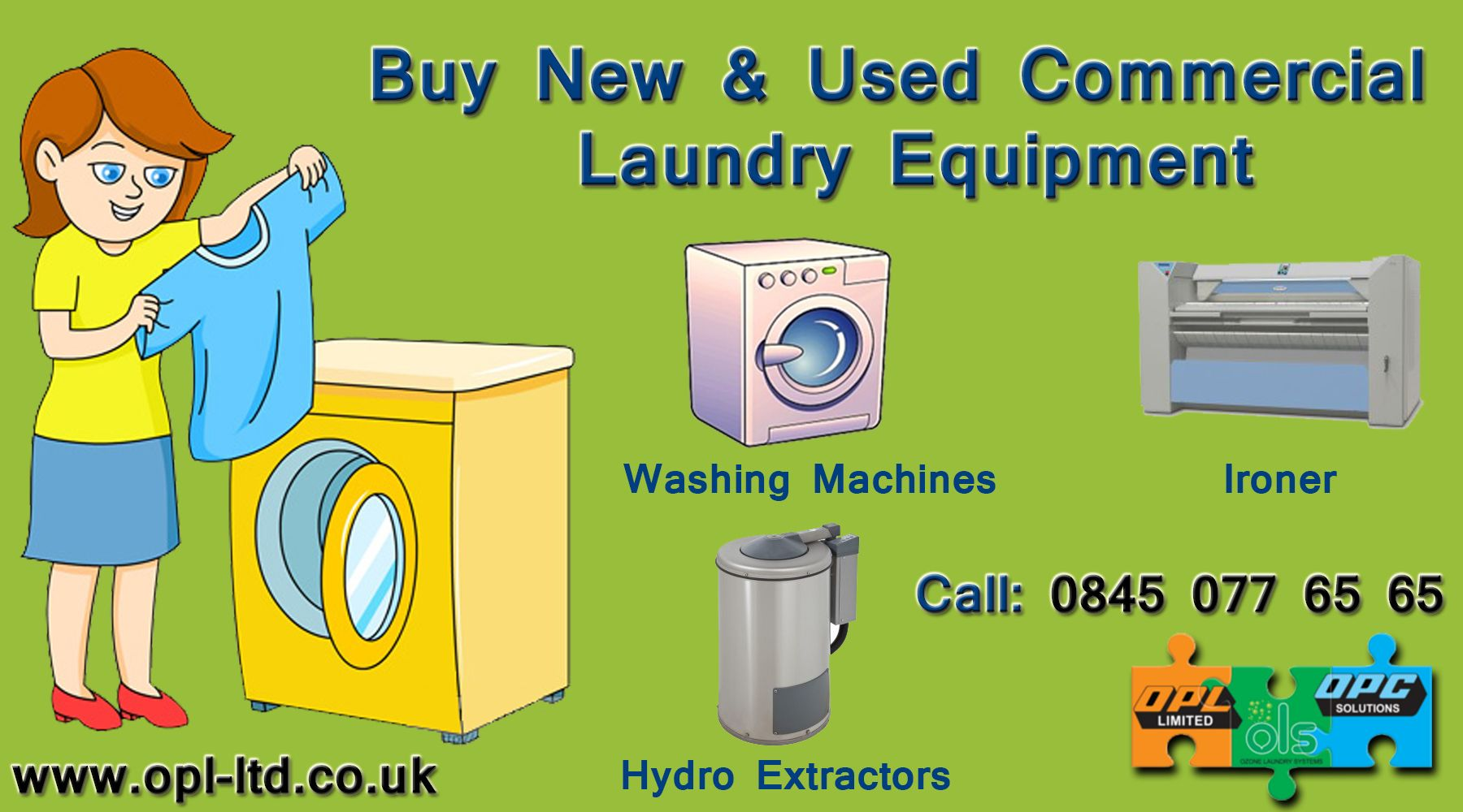 Buy New & Used Commercial Laundry Equipment | Laundry ...