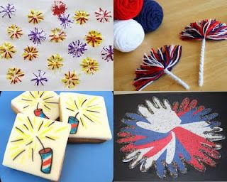Fun and Easy 4th of July Fireworks Crafts