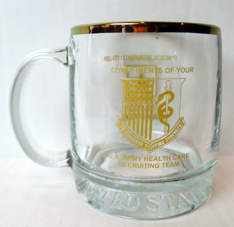 Army 5th Medical Recruiting Battalion Mug Conserve Fighting Strength