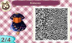 Qr acnl kimono | Tumblr