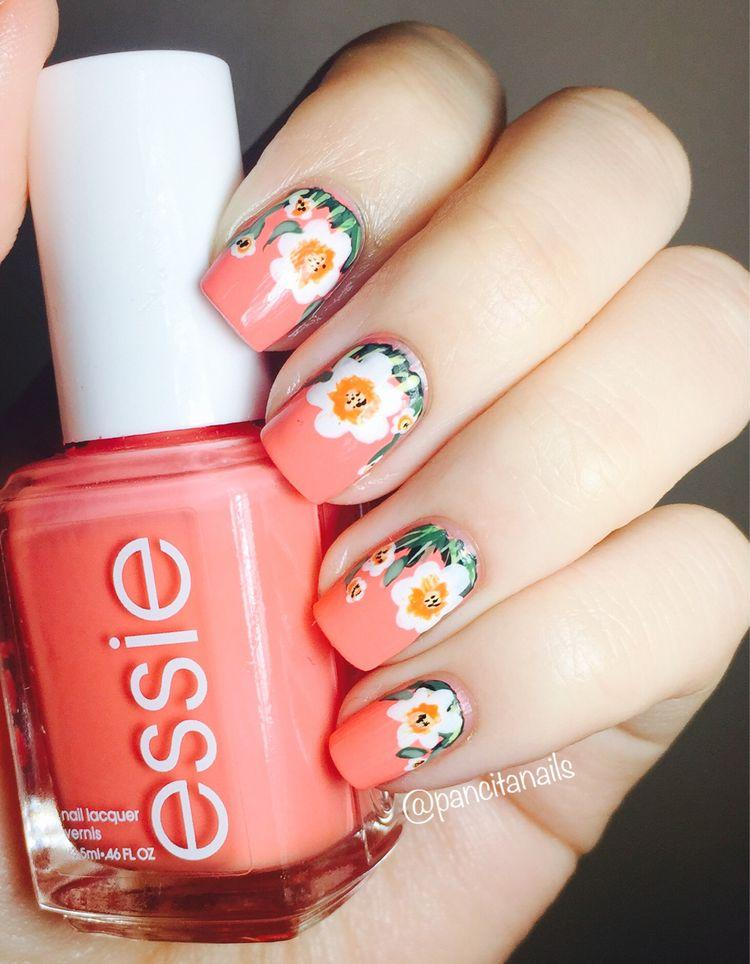 50 Sheets Floral Water Transfer Sticker Nail Art Design For Summer
