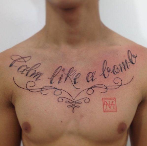 Rage Against The Machine Calm Like A Bomb Melvis Tattoo Badass