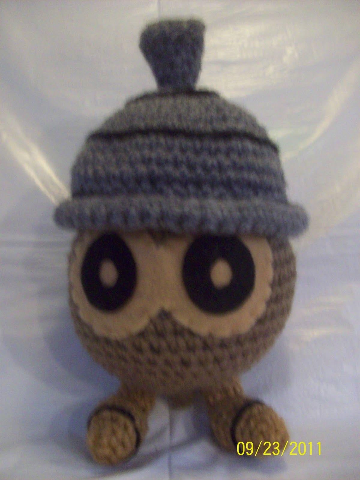 pokemon - seedot (kat\'s creations)   Fabric Crochet Pokemon   Pinterest