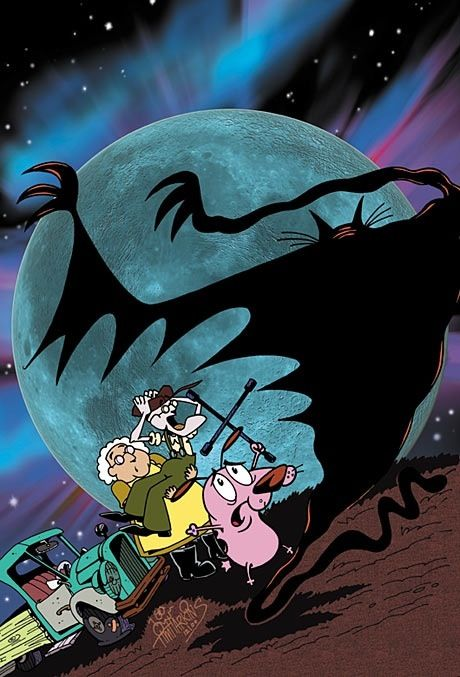 Courage the cowardly dog wallpaper