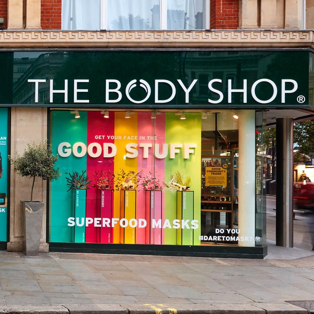 2b6234d373 THE BODY SHOP, London, UK,