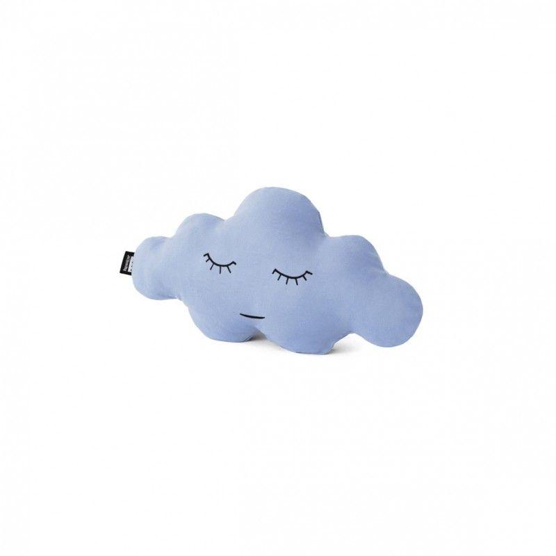 Cloud XS Celeste /// Cojines con forma de nube grande. Estilo nórdico. Hecho en España. Para niños.