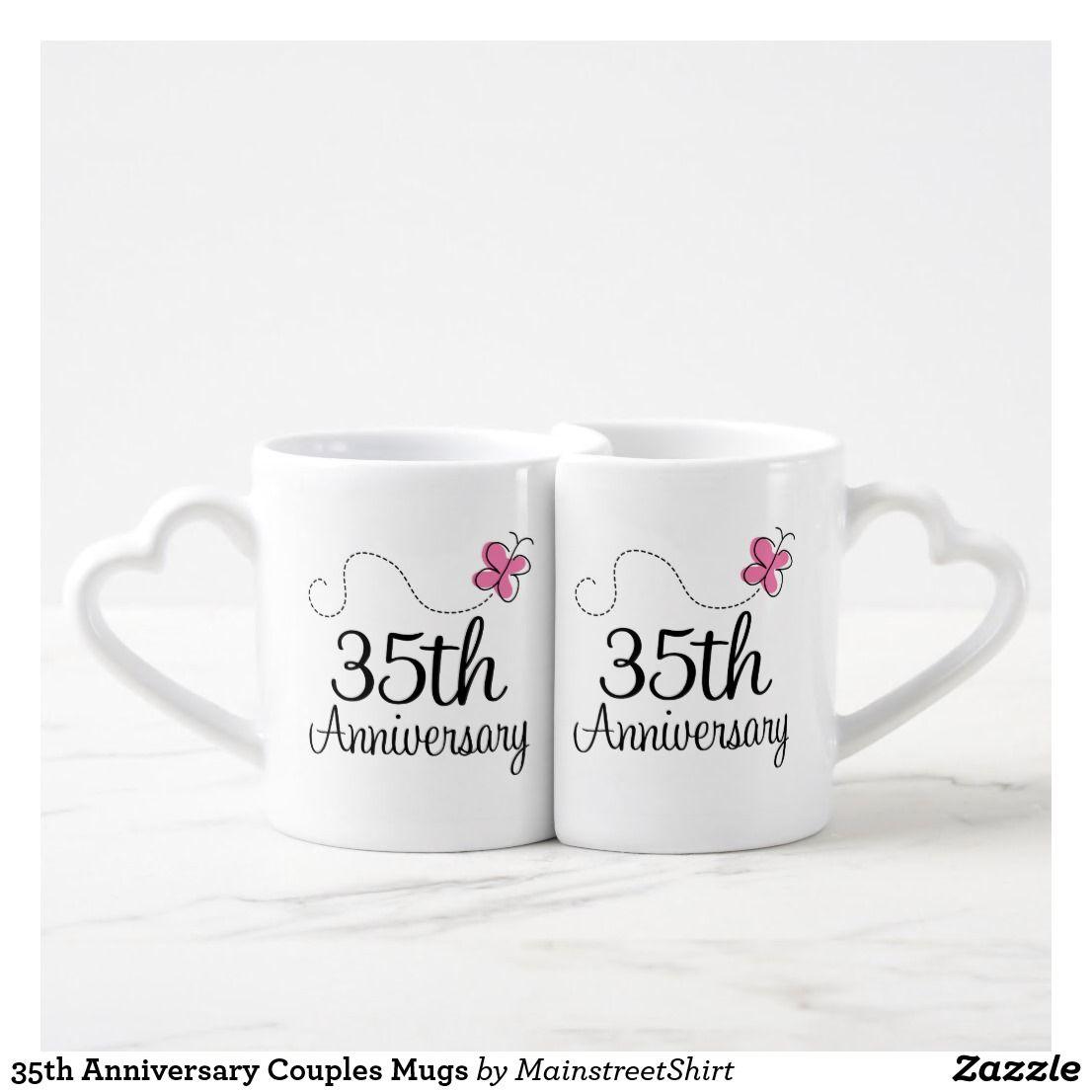 35th Anniversary Couples Mugs Couple mugs