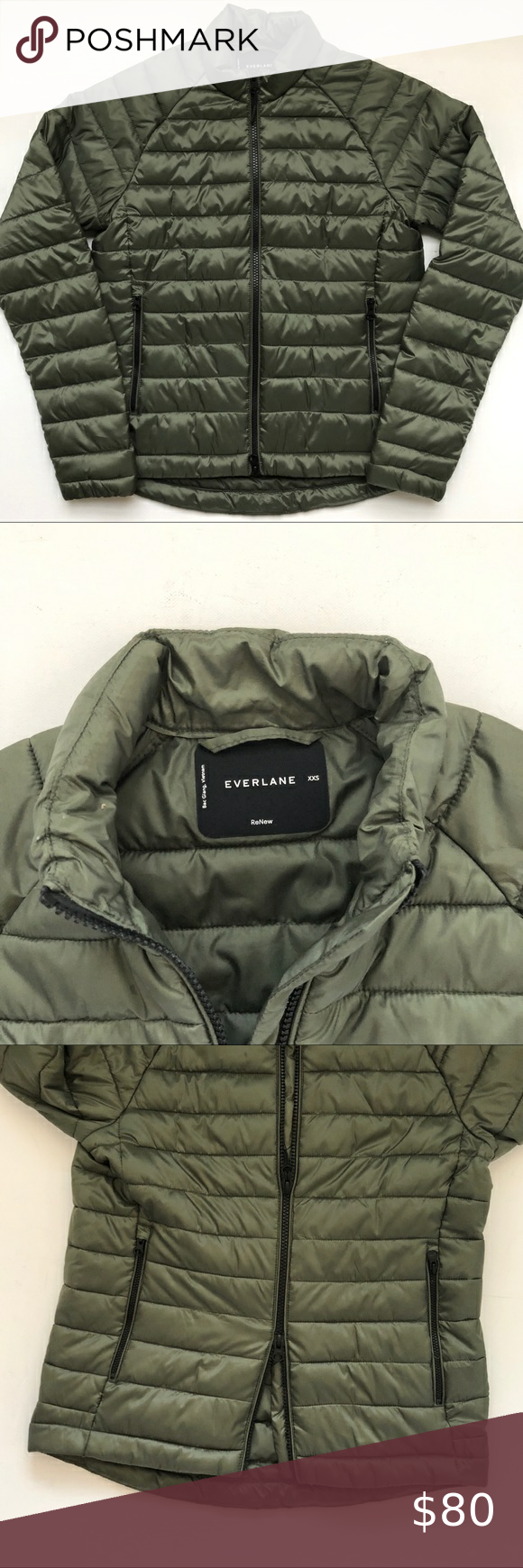 Sustainability Everlane Renew Puffer Jacket Xxs Versatile Wear Alone Or Layer Essential Basic From Quality Compa Green Puffer Jacket Jackets Puffer Jackets [ 1740 x 580 Pixel ]