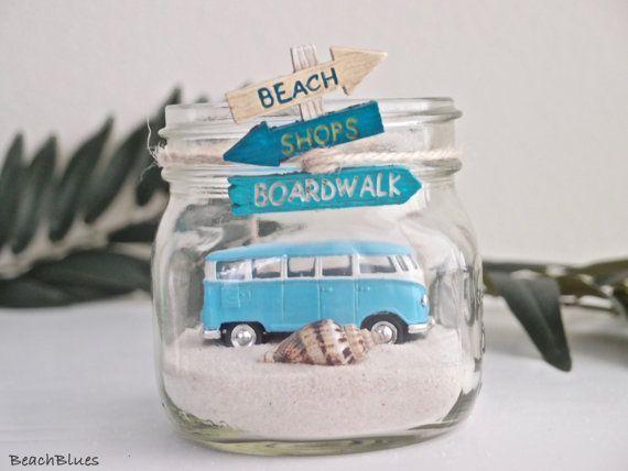 VW Bus Van / Beach Home Decor / summer decor / Beach by BeachBlues