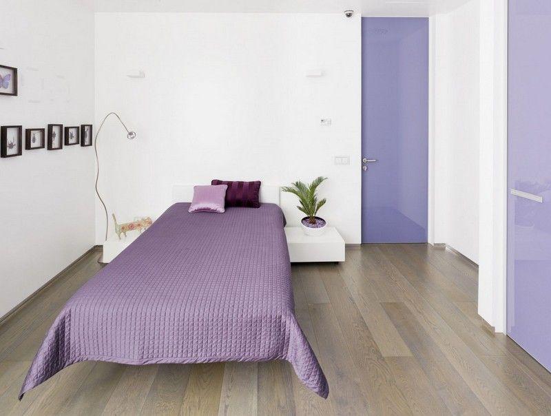 Mädchenzimmer in Weiß und Lila gestalten - modern und praktisch ...