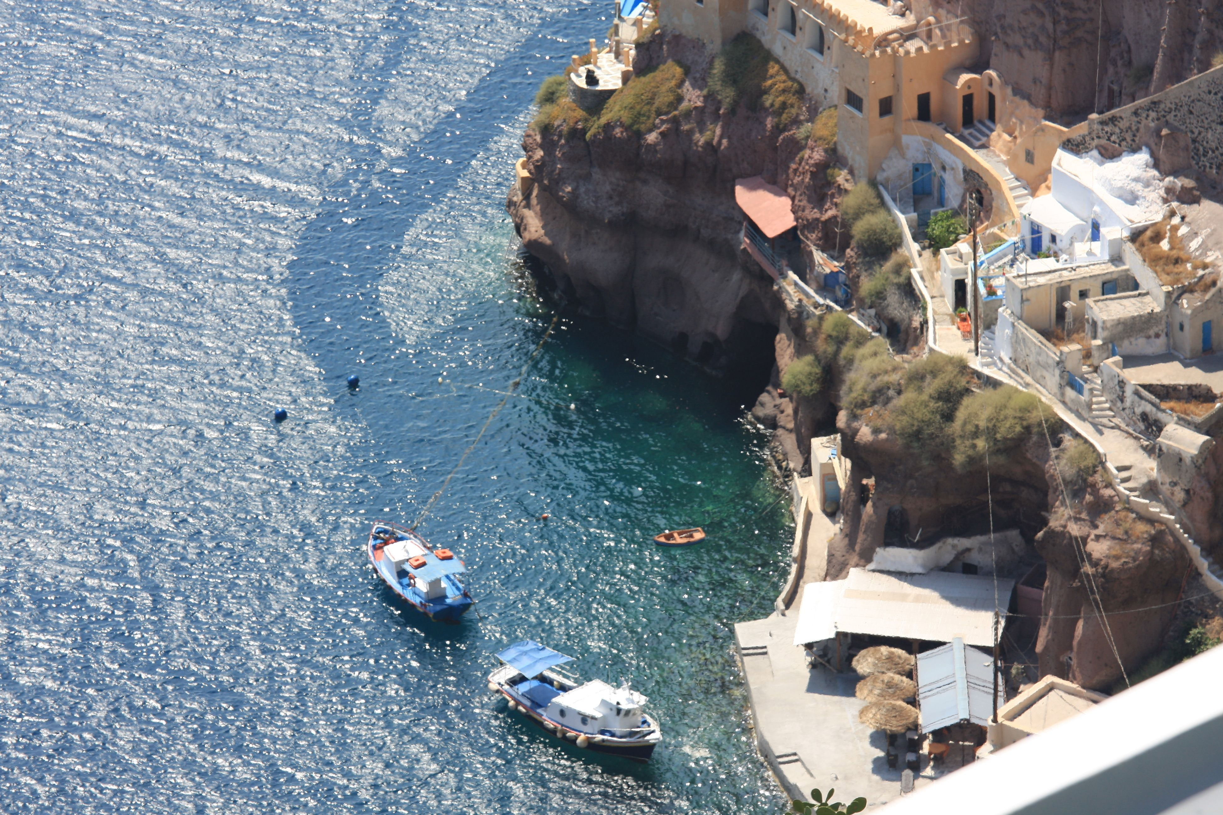 Santorini, Greece, The Port
