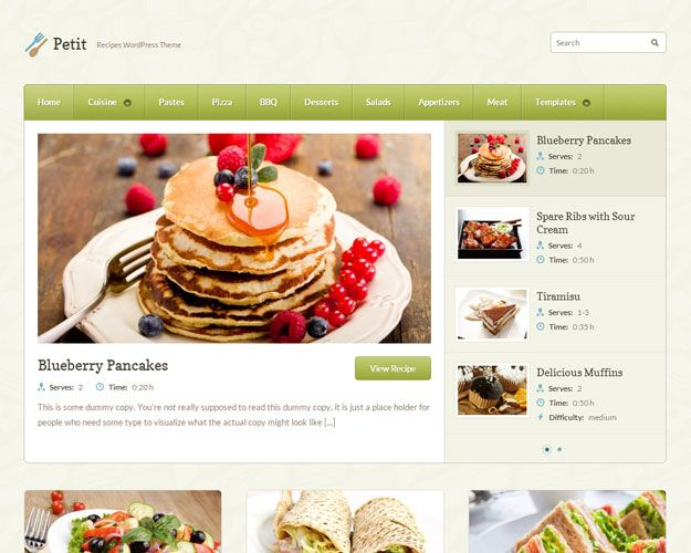 Recipe.js Wordpress