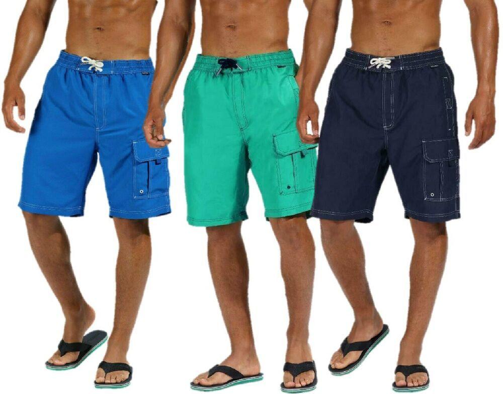 Character Herren Board Shorts Badeshorts Bademode Schwimmhose Badehose Schwimmen
