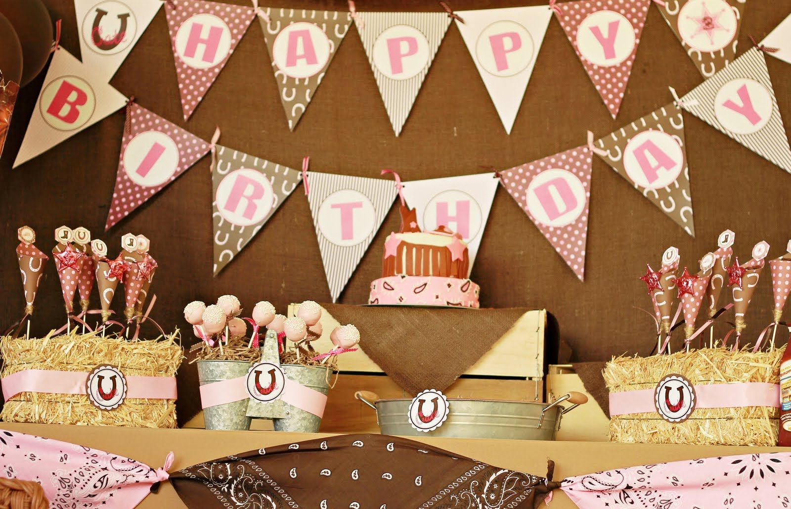 Country Girl Party Decorations