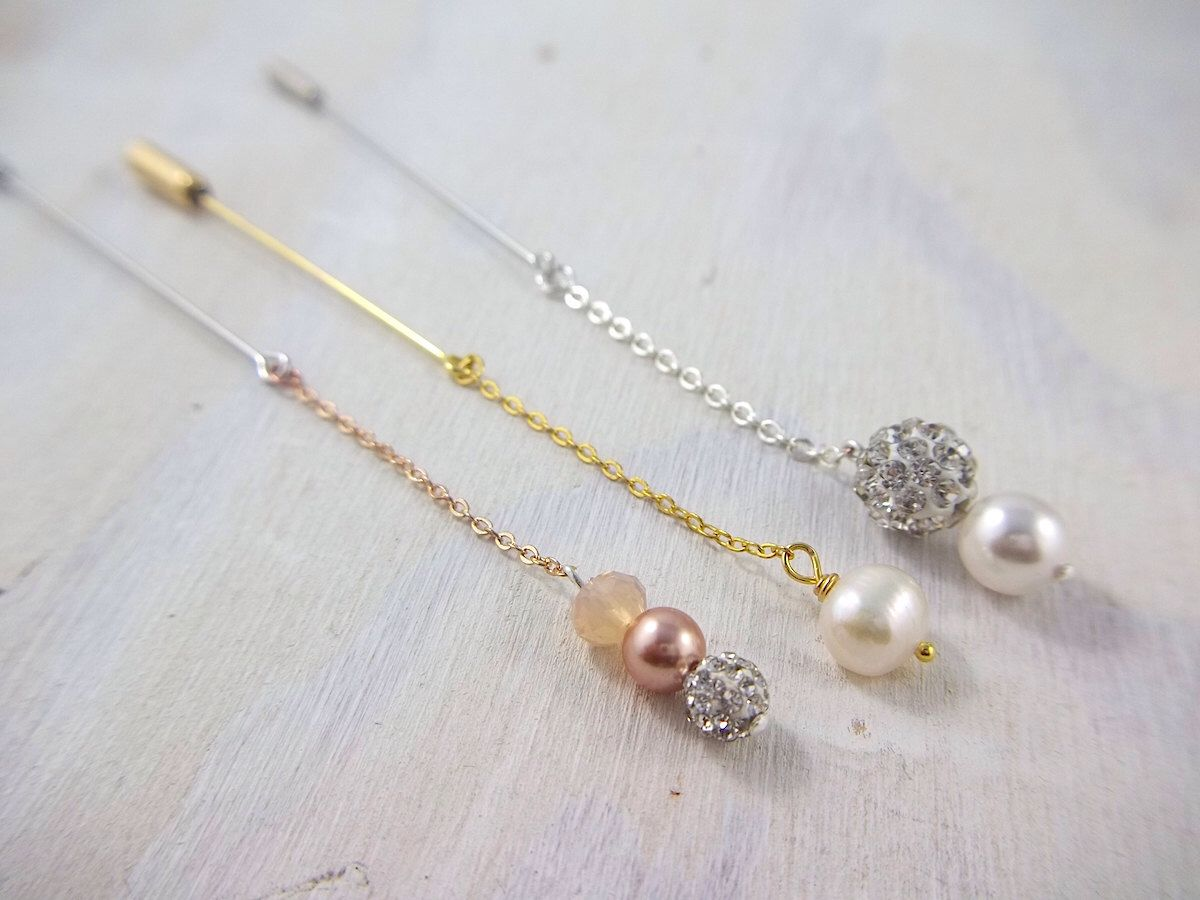 Captivating Set Of Three Everyday Hijab Pins In Rose Gold, Gold And Silver #hijab  #muslima #fashion
