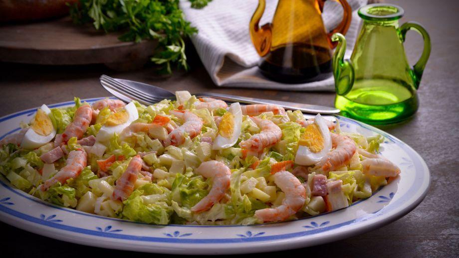 Ensalada Nazarena Hermana María José Receta Canal Cocina Receta De Puchero Ensaladas Recetas Ensaladas