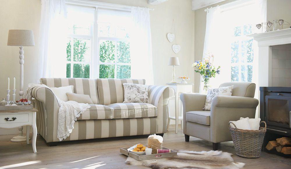 Landelijk romantische woonkamer styling idee interieur for Landelijk interieur woonkamer