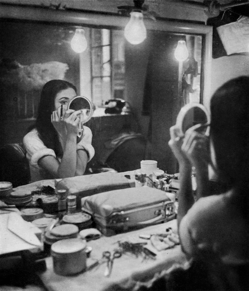 margotfonteyns: Margot Fonteyn photographed in her dressing room by Cecil Beaton, c. 1950