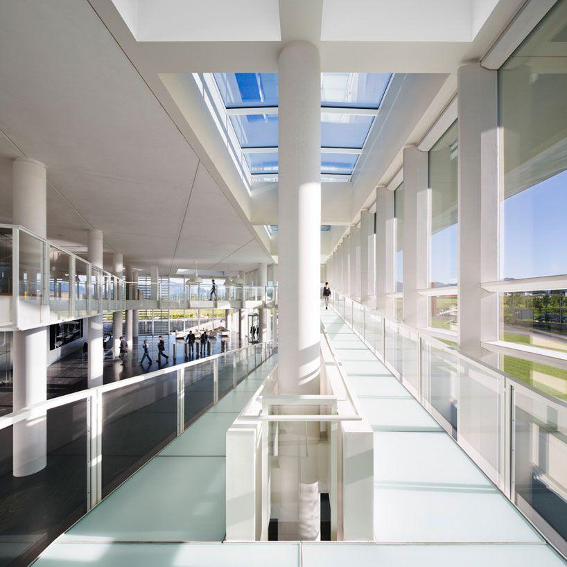 italcementi i.lab,  italy - richard meier & partners architects - designboom | architecture & design magazine