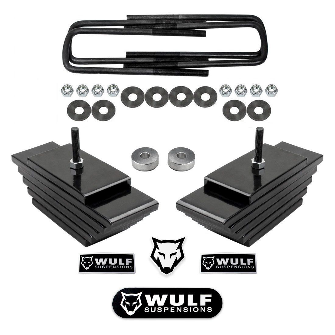 Wulf 1999 2004 Ford F250 F350 Super Duty 3 Front Lift Leveling Kit 4x4 4wd Suspensions Click On The Image For Additional F250 2005 Ford Excursion Lift Kits
