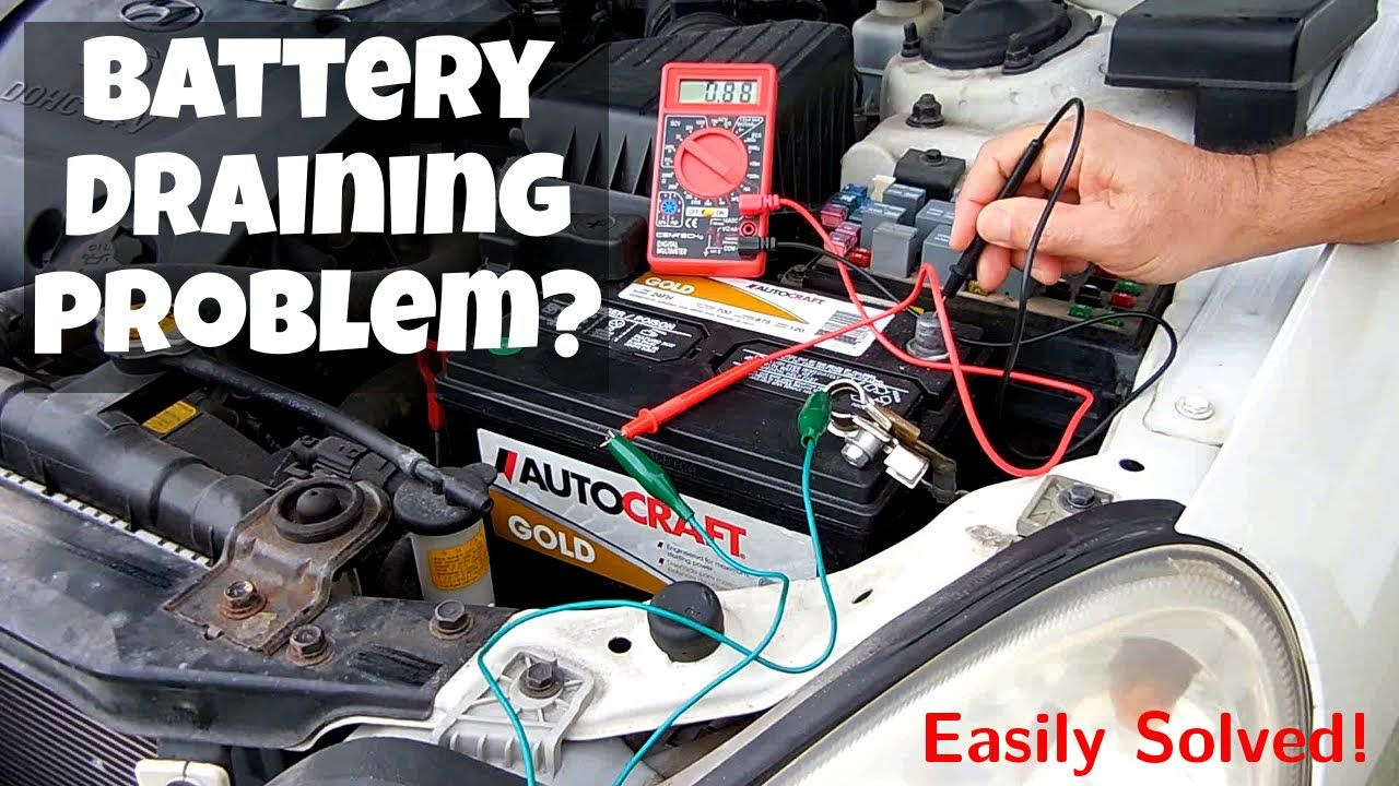 Easily Identify Vehicle Battery Draining Problems Parasitic Automotive Repair Car Cleaning Hacks Repair