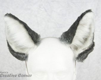 Image Result For Wolf Ears Template Wolf Ears Fur Headband