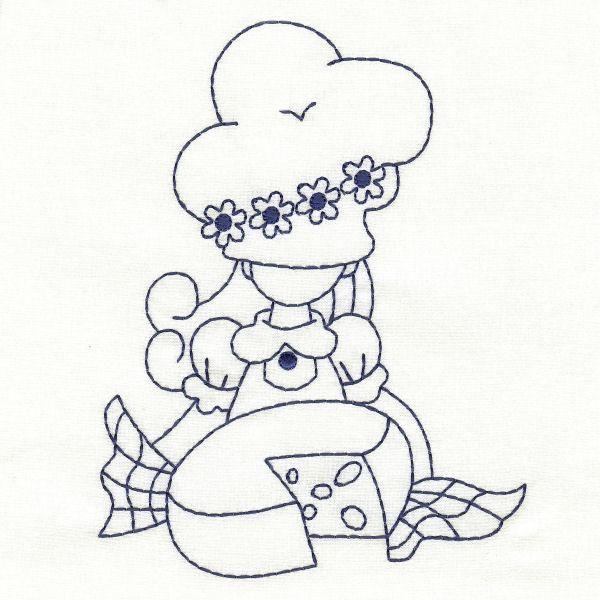 OregonPatchWorks.com - Sets - Sweet Little Cooking Girls   DISEÑOS 1 ...