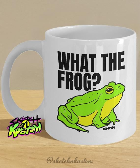 15 Cute Frog Mugs and Frog Cups for Frog Lovers!