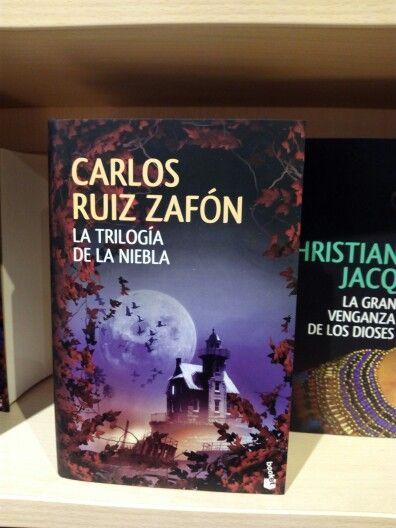 La trilogía de la niebla de Carlos Ruiz Zafón