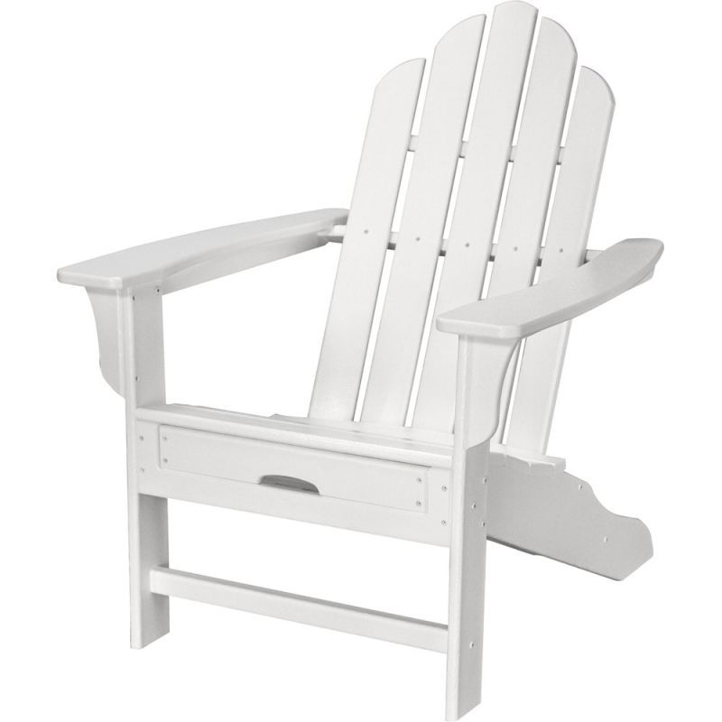 Hanover HVLNA15 All-Weather 38-1/2 Inch Tall Polywood Outdoor Adirondack Chair w