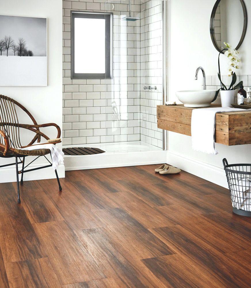 Image Result For Modern Bathroom Subway Tile And Wood Floor Wood Floor Bathroom Wood Tile Bathroom Bathroom Flooring