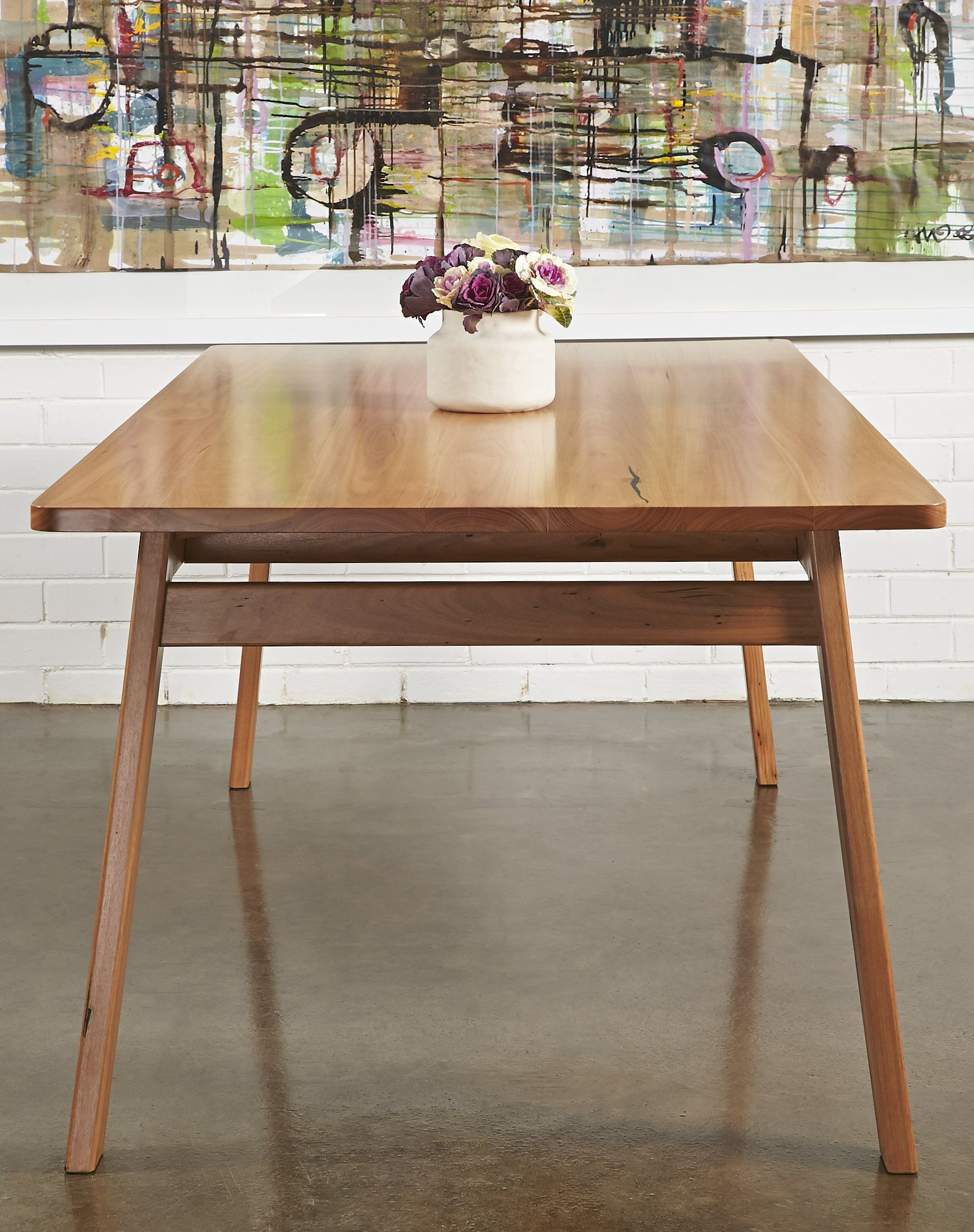 Stunning Bespoke Furniture Richmond dining table crafted from