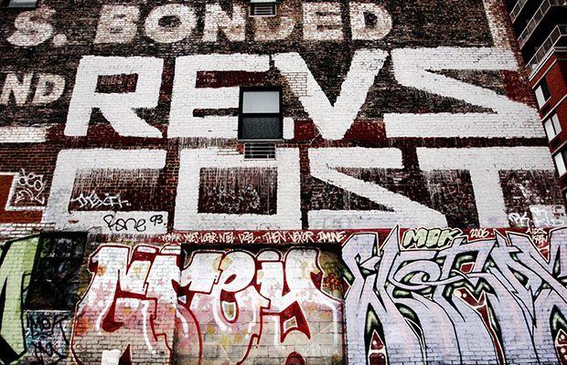 Revs Graffiti artist
