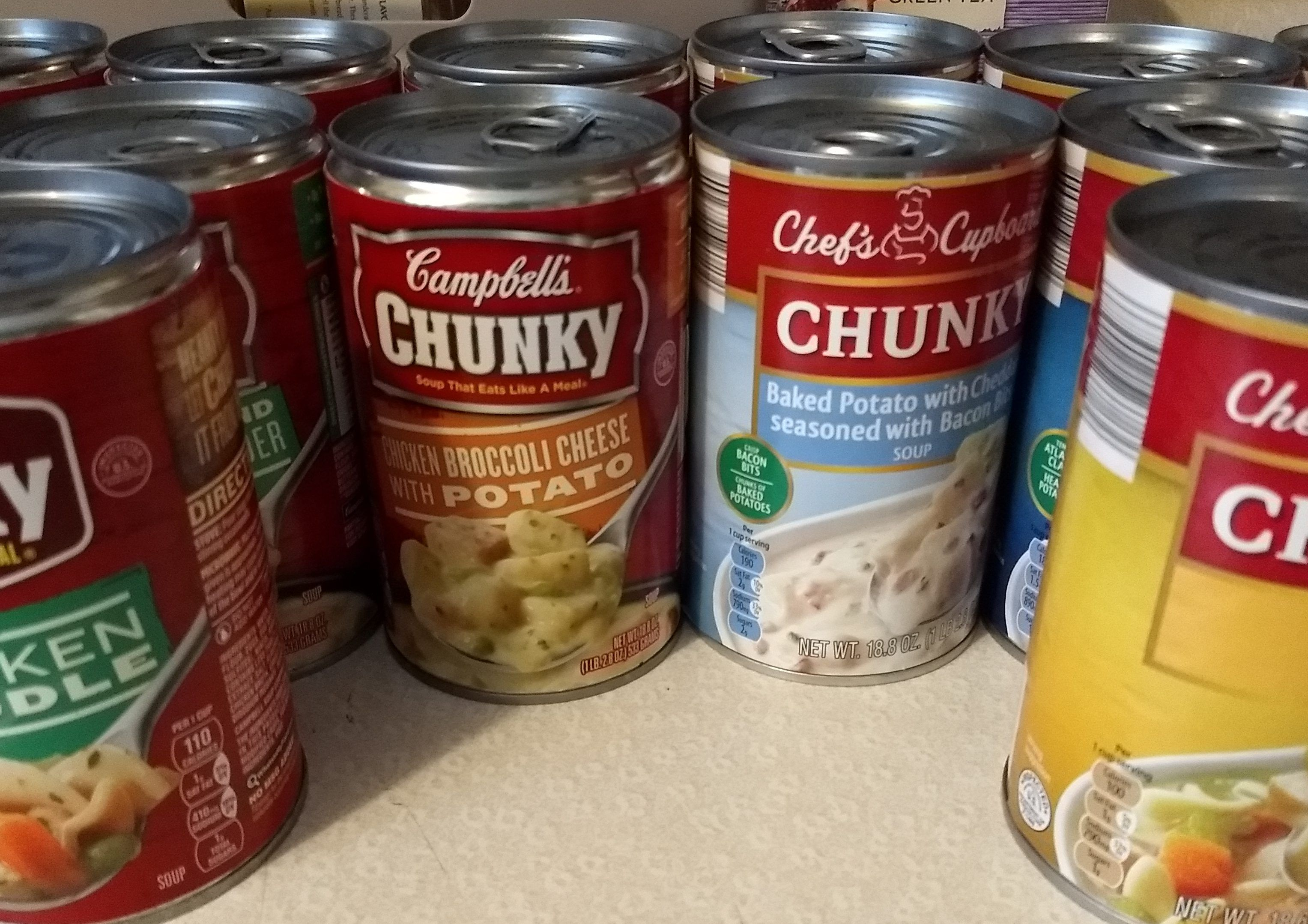 The Chunky Soup Showdown Campbell S Vs Chef S Cupboard Cold