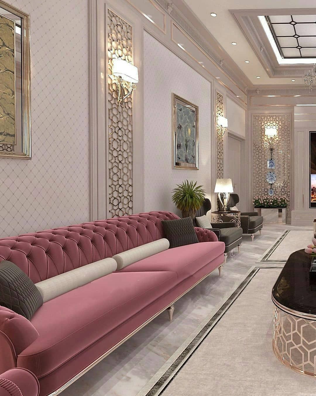 1 847 Likes 68 Comments Mobilya Dekor Duzen Aksesuar Home Dizayn On Instagram 1 10 Luxury Living Room Design Luxury Living Room Living Room Decor Cozy
