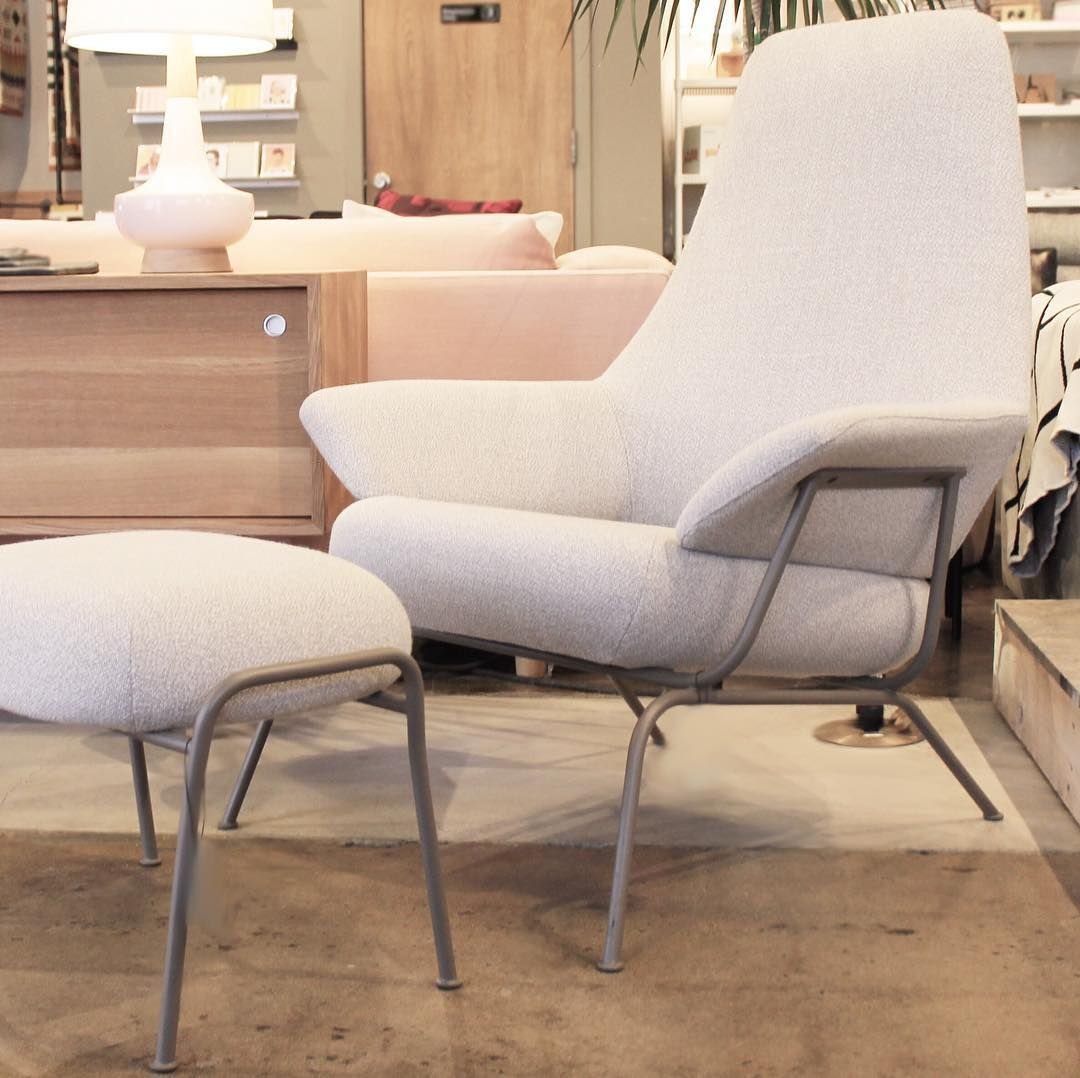 Modern Furniture Workshop hai chair and ottomanhem. at forage modern workshop